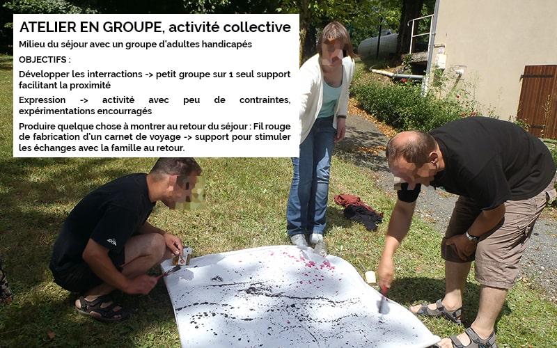 Art-Thérapie : activité collective