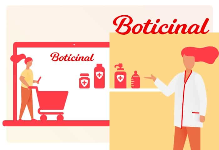 Boticinal enseigne de pharmacie et parapharmacie omnicanal