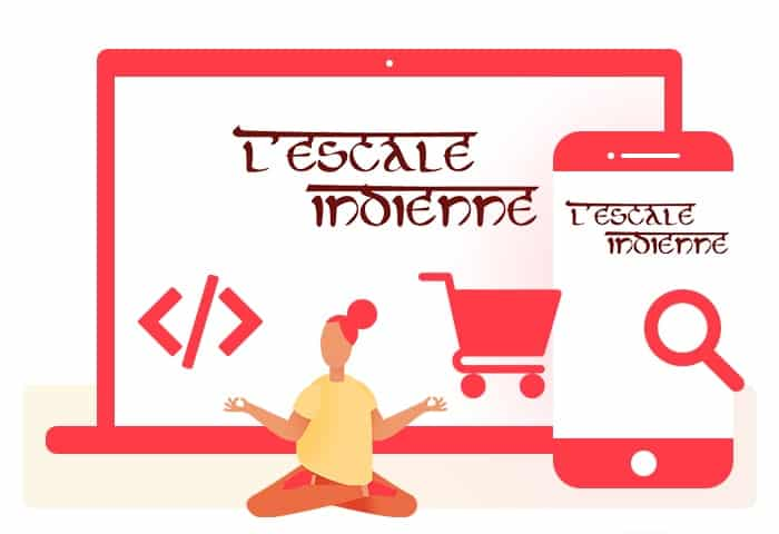 L'escale Indienne : e-commerce / code / SEO